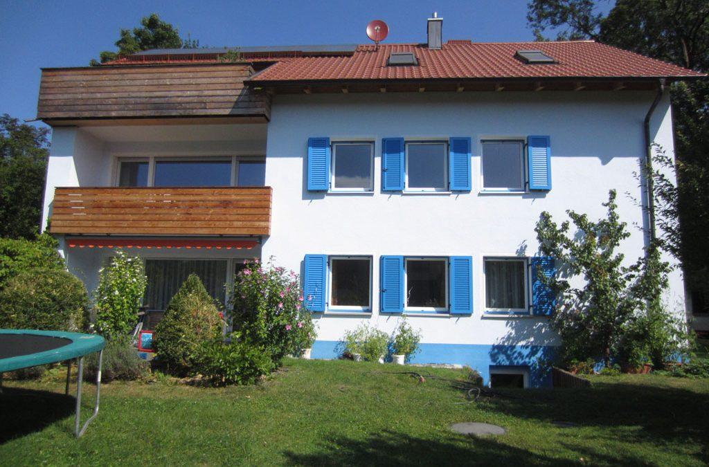 Umbau eines Zweifamilienhauses